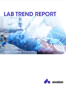 Lab Trend Report 2021 Cover Page